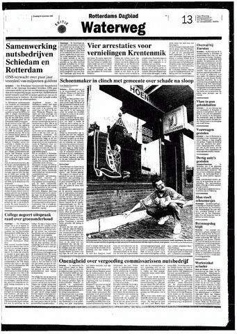 Rotterdamsch Nieuwsblad / Schiedamsche Courant / Rotterdams Dagblad / Waterweg / Algemeen Dagblad 1993-09-28