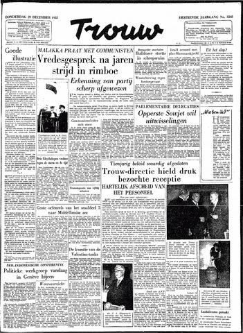Trouw / De Rotterdammer 1955-12-29
