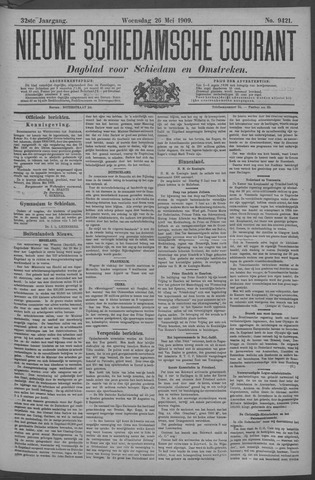 Nieuwe Schiedamsche Courant 1909-05-26