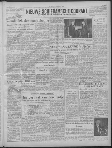 Nieuwe Schiedamsche Courant 1949-08-22