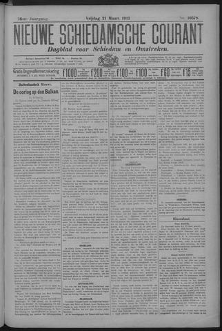 Nieuwe Schiedamsche Courant 1913-03-21
