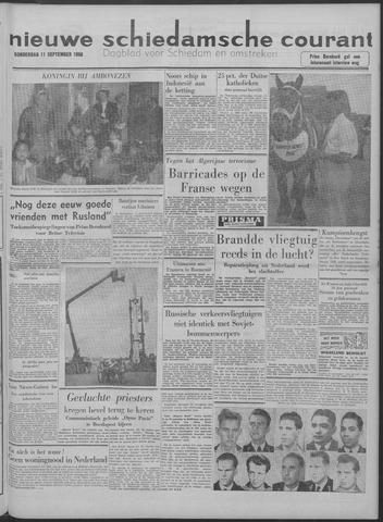 Nieuwe Schiedamsche Courant 1958-09-11