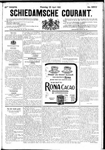 Schiedamsche Courant 1912-04-29