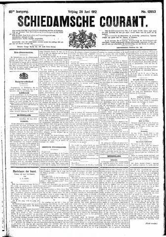 Schiedamsche Courant 1912-06-28