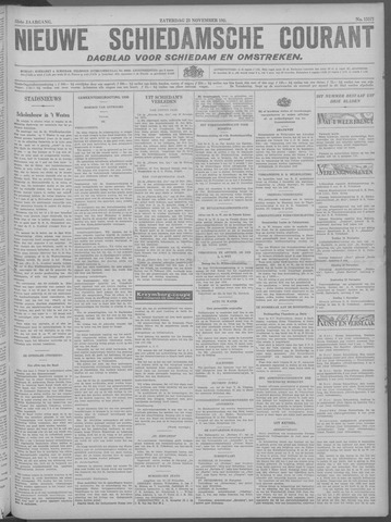 Nieuwe Schiedamsche Courant 1929-11-23