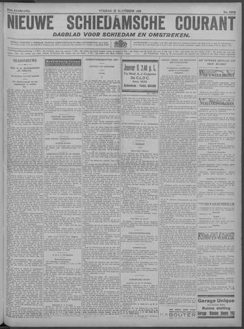 Nieuwe Schiedamsche Courant 1929-11-22