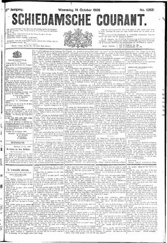 Schiedamsche Courant 1908-10-14