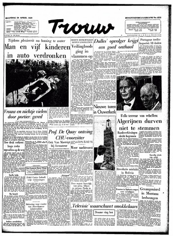 Trouw / De Rotterdammer 1959-04-20