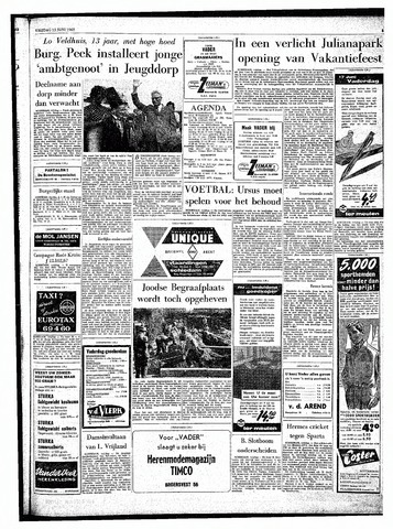 Rotterdamsch Parool / De Schiedammer 1962-06-15