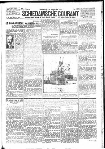Schiedamsche Courant 1931-08-20