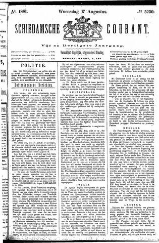 Schiedamsche Courant 1881-08-17
