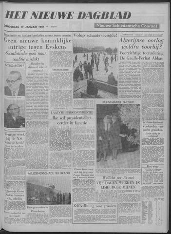 Nieuwe Schiedamsche Courant 1961-01-19