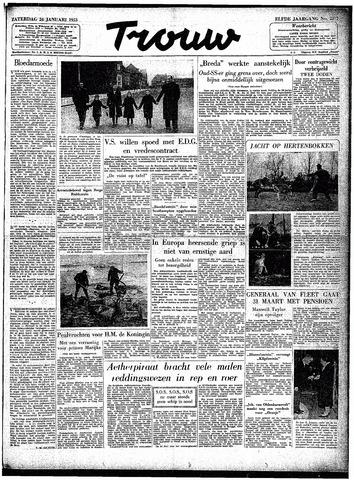 Trouw / De Rotterdammer 1953-01-24