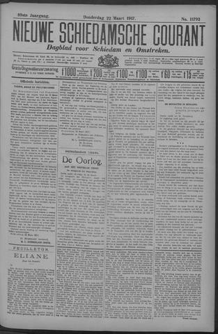 Nieuwe Schiedamsche Courant 1917-03-22
