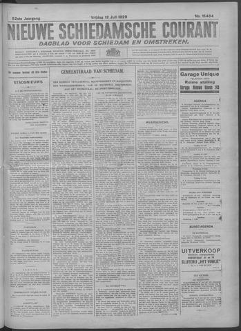 Nieuwe Schiedamsche Courant 1929-07-12