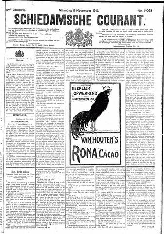 Schiedamsche Courant 1912-11-11