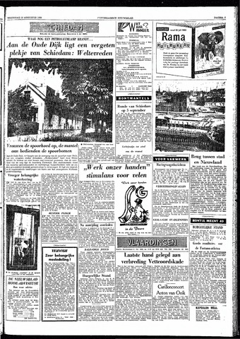 Rotterdamsch Nieuwsblad / Schiedamsche Courant / Rotterdams Dagblad / Waterweg / Algemeen Dagblad 1959-08-19