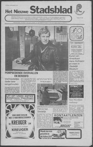 Het Nieuwe Stadsblad 1977-11-18