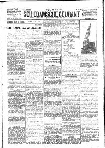 Schiedamsche Courant 1931-05-22