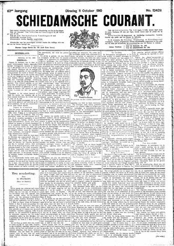 Schiedamsche Courant 1910-10-11