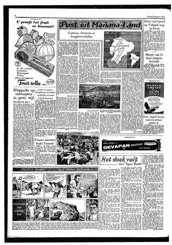 Rotterdamsch Parool / De Schiedammer 1957-08-02