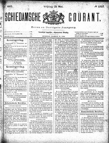 Schiedamsche Courant 1883-05-25