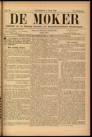 De Moker 1906-05-05