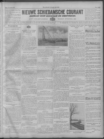 Nieuwe Schiedamsche Courant 1932-01-11