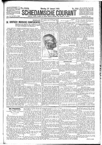 Schiedamsche Courant 1931-01-27