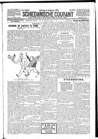 Schiedamsche Courant 1931-08-08