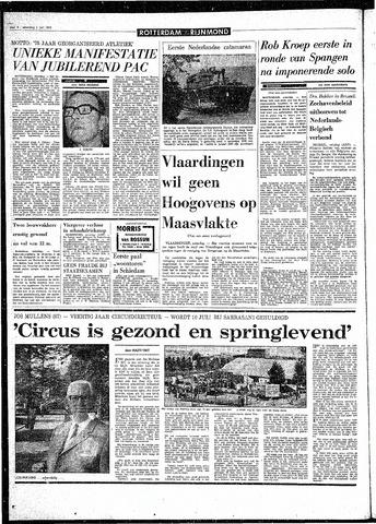 Rotterdamsch Parool / De Schiedammer 1970-07-04