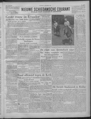 Nieuwe Schiedamsche Courant 1949-08-08