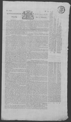 Rotterdamse Courant 1826-02-21