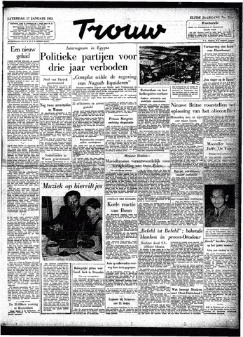 Trouw / De Rotterdammer 1953-01-17