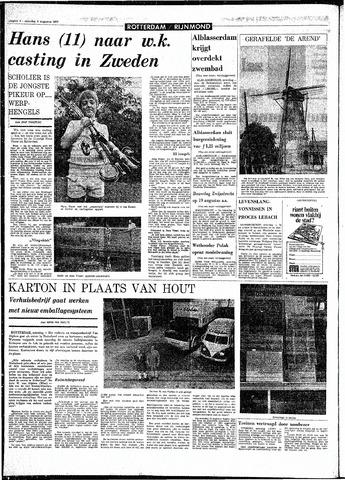 Rotterdamsch Parool / De Schiedammer 1970-08-08