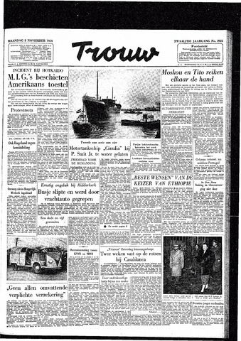 Trouw / De Rotterdammer 1954-11-08