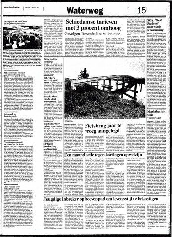 Rotterdamsch Nieuwsblad / Schiedamsche Courant / Rotterdams Dagblad / Waterweg / Algemeen Dagblad 1991-10-09