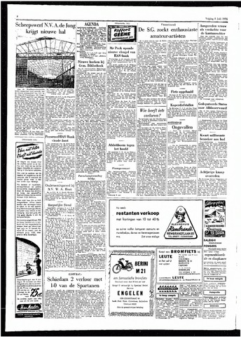 Rotterdamsch Parool / De Schiedammer 1955-07-08