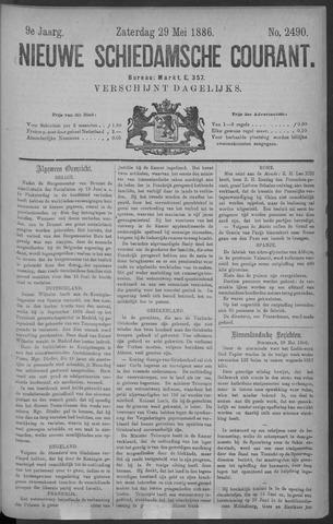 Nieuwe Schiedamsche Courant 1886-05-29