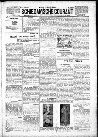 Schiedamsche Courant 1935-03-15