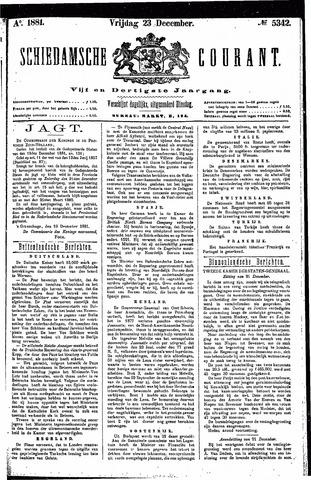 Schiedamsche Courant 1881-12-23