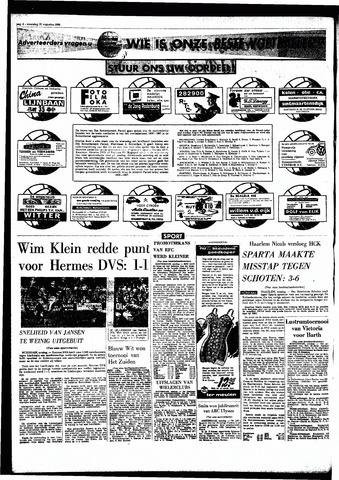 Rotterdamsch Parool / De Schiedammer 1966-08-22