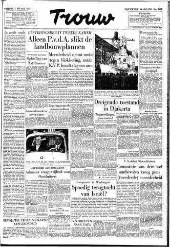 Trouw / De Rotterdammer 1957-03-01