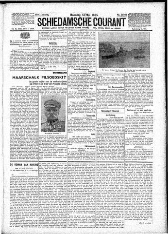 Schiedamsche Courant 1935-05-13