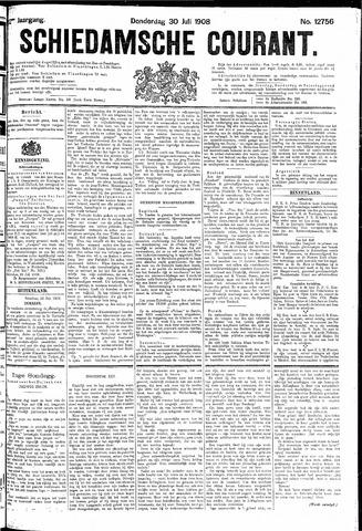 Schiedamsche Courant 1908-07-30