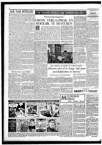 Rotterdamsch Parool / De Schiedammer 1957-10-22