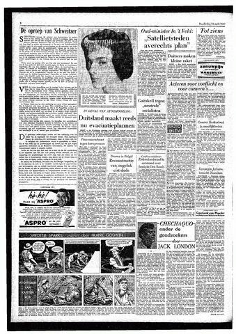 Rotterdamsch Parool / De Schiedammer 1957-04-25