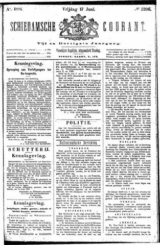 Schiedamsche Courant 1881-06-17