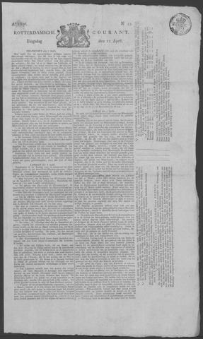 Rotterdamse Courant 1826-04-11