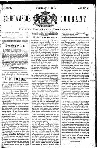 Schiedamsche Courant 1879-07-07